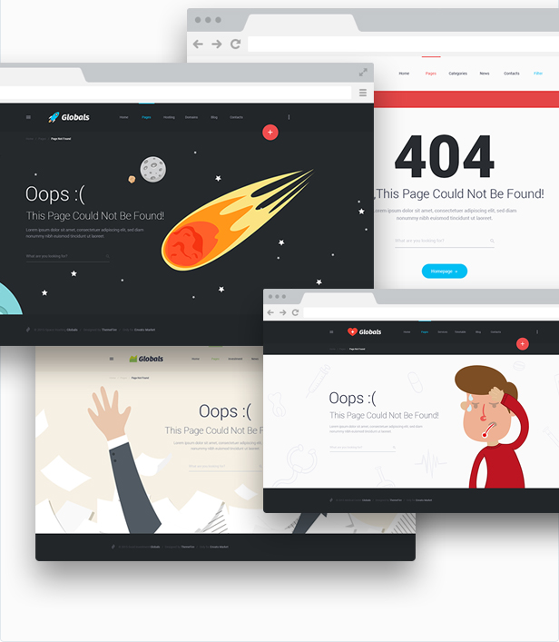 Globals - Material & Bootstrap HTML Template - 14
