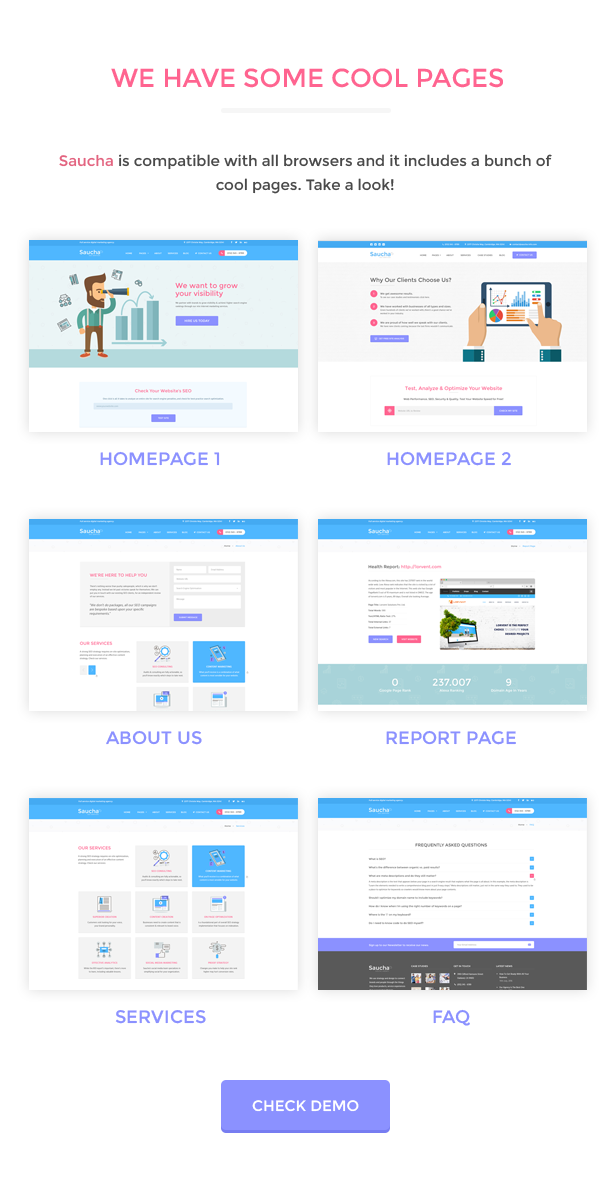 Saucha - Marketing & SEO Services Template - 3