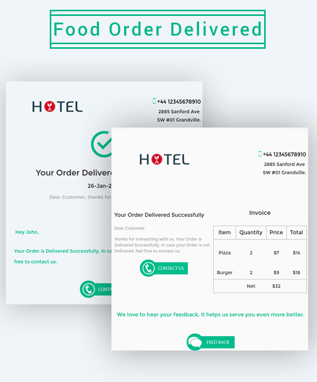 Hotel - Email Marketing Template - 5