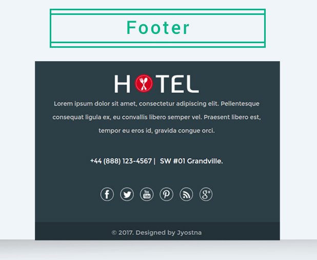 Hotel - Email Marketing Template - 6