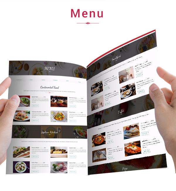 Precious Restaurant Template - 10
